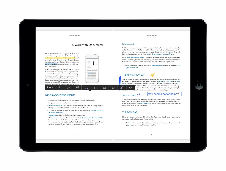 notebooks pdf reader notebooks