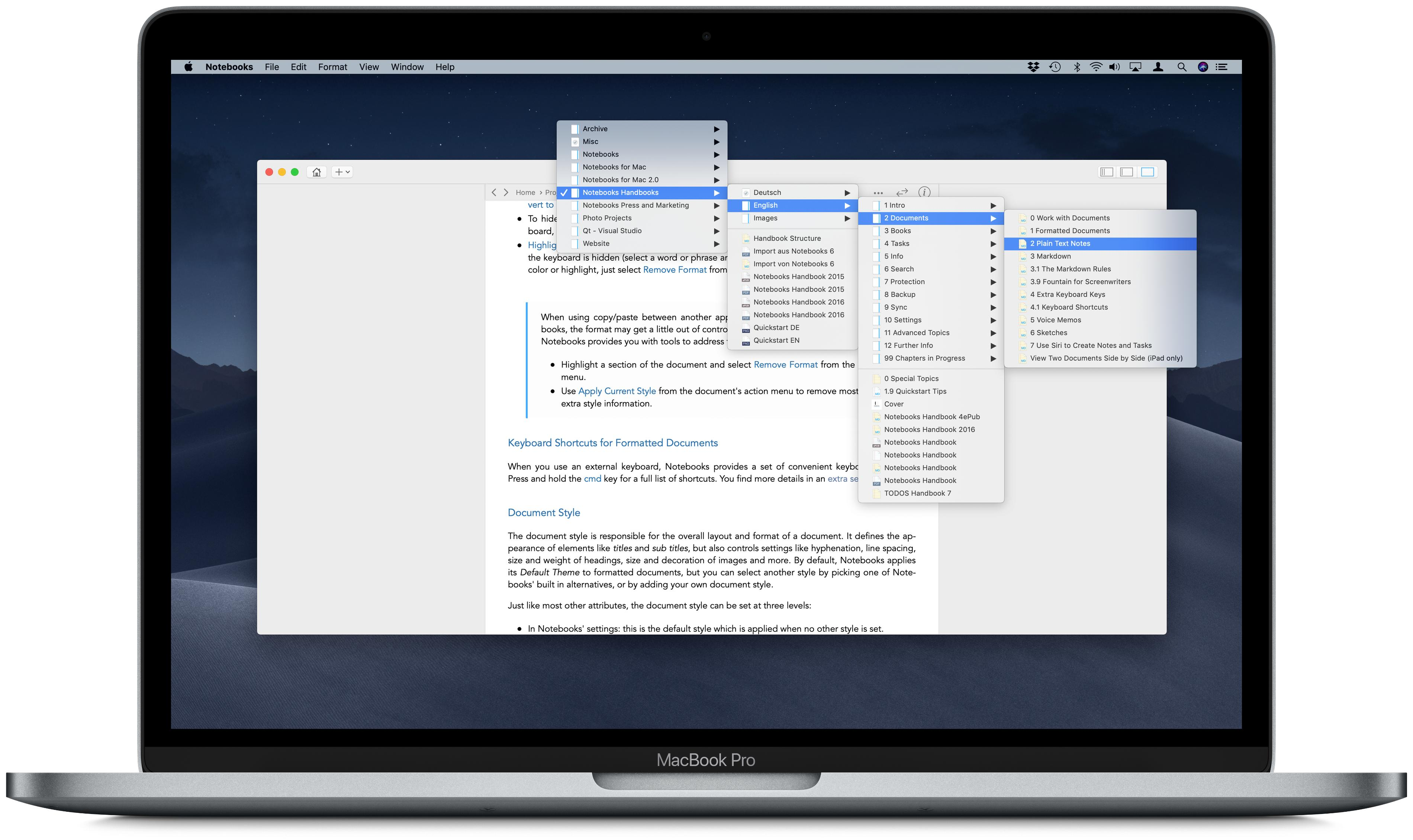 Notebooks for Mac • Notebooks