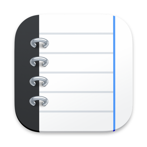 Notebooks for Mac icon