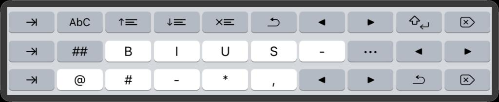 Extra Keyboard Keys